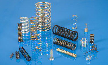 We supply compression springs in different dimensions.